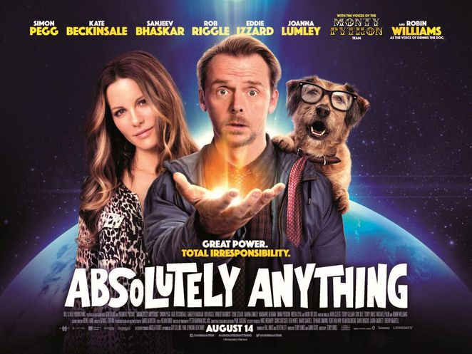 Absolutely Anything, Absolutely Anything movie, movie reviews, film reviews, DVD releases, Blu-Ray releases, cinema, movies