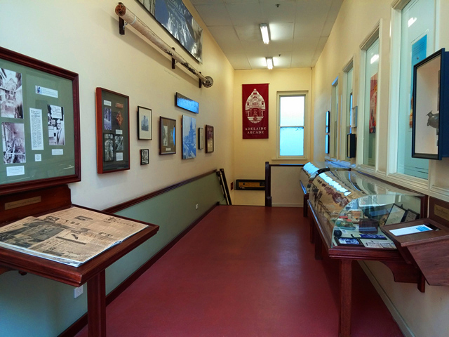 Adelaide Arcade Museum Rundle Mall