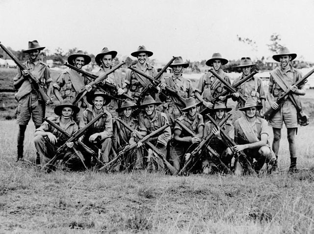 Australian soldiers wikicommons image
