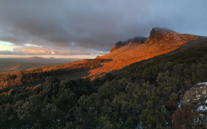 ben lomond, national park, sunset, mountain, tasmania