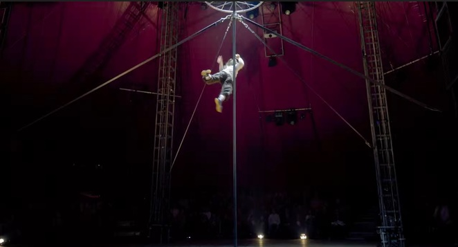 Big top, Lexicon, No Fit State, Royal Botanic Gardens, Melbourne Festival, circus