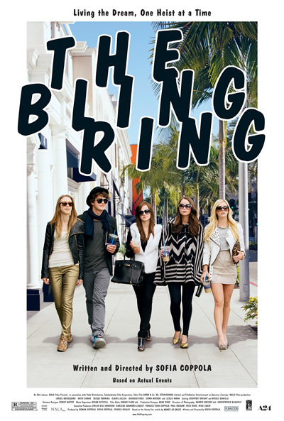 bling ring, movie poster, emma watson, sofia coppola, paris hilton