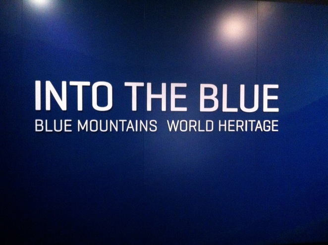 Blue Mountains City Art Gallery-Into blue