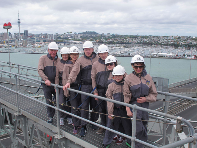 Bridge, Climb, Auckland, NZ, Bridgeclimb