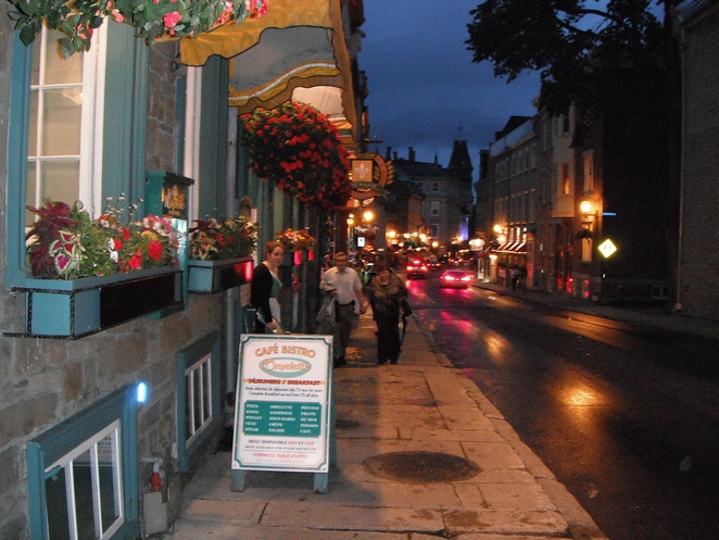 Cafe de Paris, Old Quebec