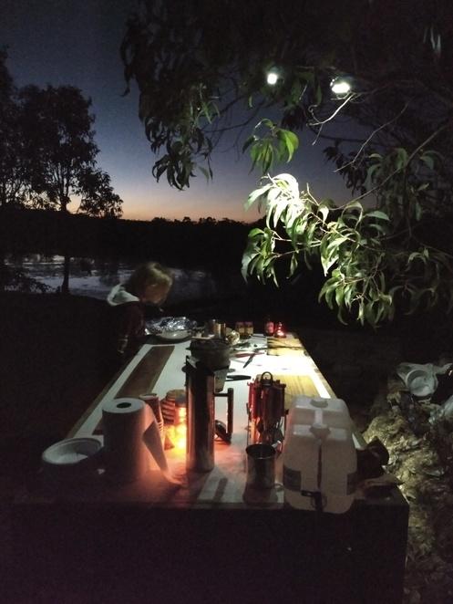 campfire cooking, night sky secrets tour, star gazing, things to do near Cairns