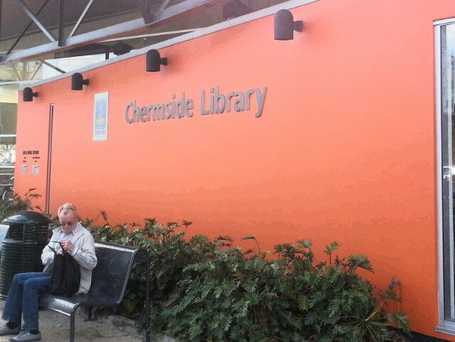 Chermside Library, Literary events, michael robotham, the book theif film, crime novels