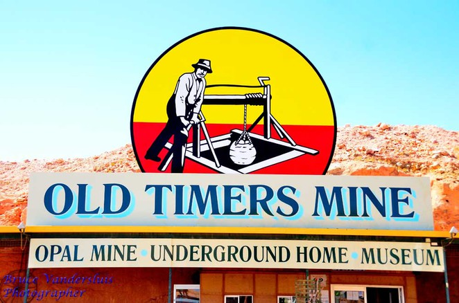coober pedy, old timers mine