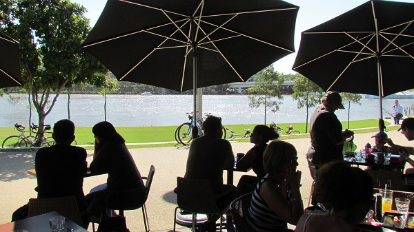 cove bar and dining, south bank, river quay, south bank dining, breakfast at south bank