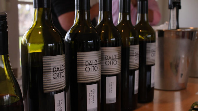 Dal Zotto wine lunch at the Barre, Melbourne Arts Centre, Dal Zotto wines