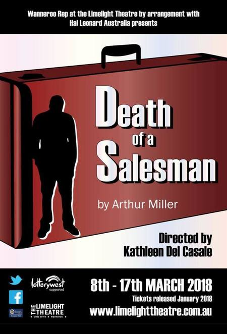 Death of a Salesman, Limelight Theatre, Arthur Miller, performing arts, Tony Award, Pulitzer Prize, masterpiece, stage, Biff, Willy Loman