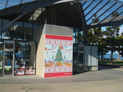 Where To See Christmas Decorations In Central Geelong