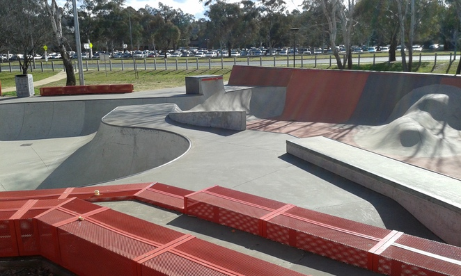 Eddison Skate Park, things to do with teenagers, woden, Canberra