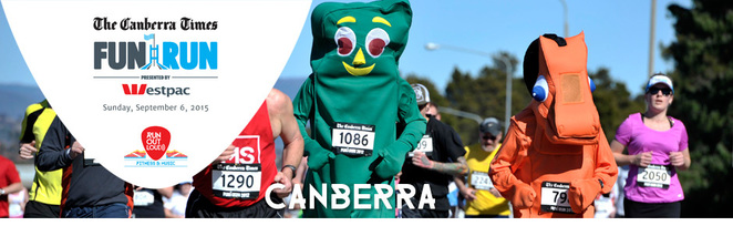 Everyday here website, Canberra Times Fun Run 2015