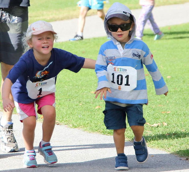 Friends of the Community Manning Park Trial Run 2018, kids especially welcome