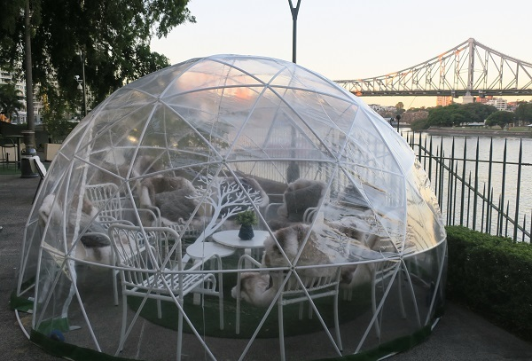 geodesic dome, igloo, may cross
