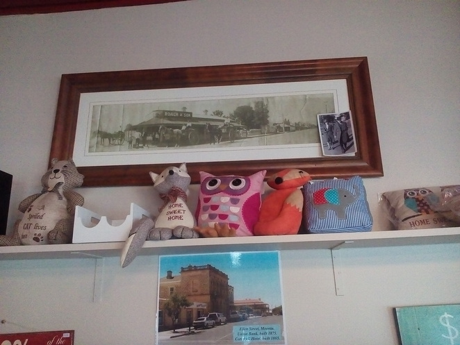 Henry on George, photo of butchers shop, Cafe, Moonta, heritage