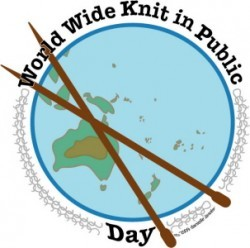 Knitting, WWKIPD, Knit in public day, australia, 2018, 9th june,