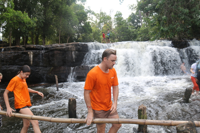 Kulen mountain, cambodia, Siem Reap, blessed by a monk, sacred, religous, buddhist