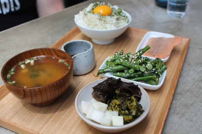 kyo coffee project canberra braddon japanese udon noodles bento seaweed