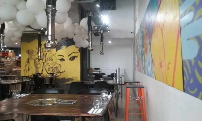 Little Miss Korea Darwin CBD Interior