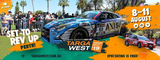 make smoking history 2019, targa west 2019, make smoking history targa west 2019, community event, fun things to do, smoke free lifestyle, brteathe easier, live longer, rev up perth, tarma rally action, car rally, car competition, stages, live acts, whiteman park, muchea, ellenbrook, kalamunda, parkerville, toodyay, chittering, bullsbrook, malaga, city of perth, special stage, riverside drive, swan river, shannons classic on the park, beautiful cars from yesteryear, celebration of motorsport, langley park