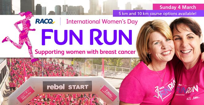 mater foundation, chicks-in-pink, fun run, brisbane, fundraiser, medical research, mater