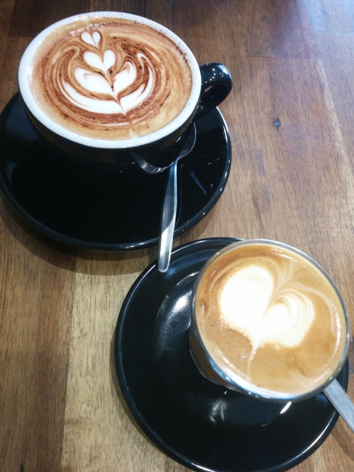 milk coffees cappuccino piccolo coffee peakhurst heights roasted baker