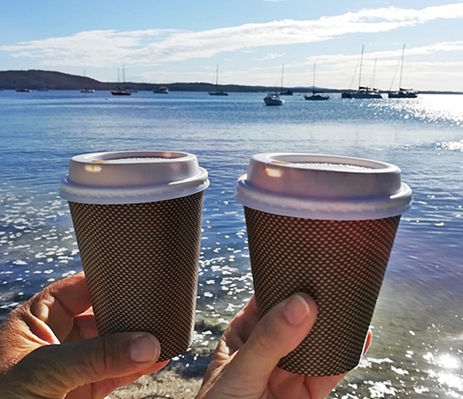 nelson bay, winter, activities, coffee, takeaway coffee, NSW, port stephens, things to do in winter, tourist attractions, best takeaway coffee,