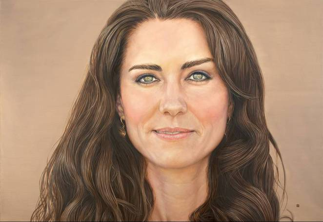 Princess Kate portrait David Wells