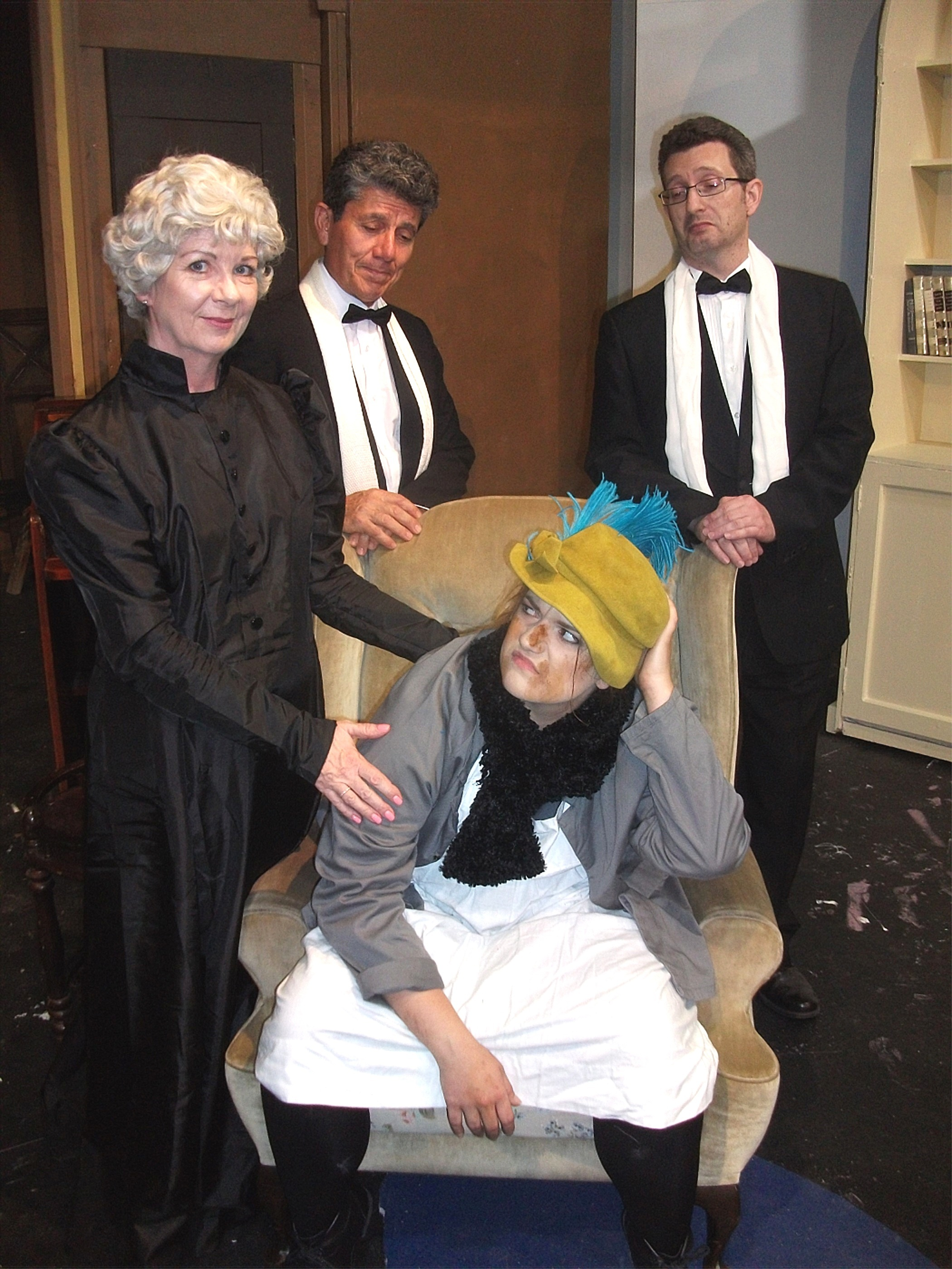 henry higgins bullies eliza doolittle to These are joined by eliza doolittle,  higgins bullies and wheedles eliza into remaining at  henry higgins can determine a londoner's address down to the.