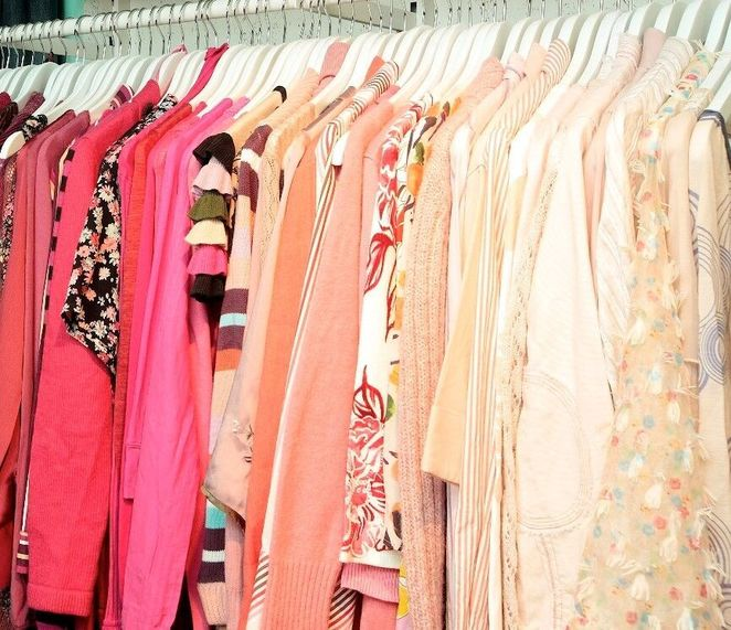 Pre-loved fashion pieces to be found at the Red Cross Pop Up Shop