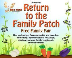 Return to the Family Patch Free Family Fair