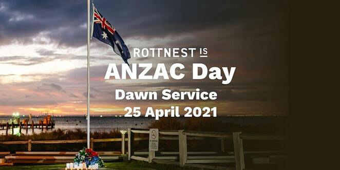 rottnest island anzac day dawn service 2021, community event, fun things to do, thomson bay, dusk service, dawn service on the thomson bay foreshore lawn, gunfire breakfast in the settlement mall, explore the history of rottnest, oliver hill gun and tunnel tours, bickley battery trail tours, wadjemup museum, the returned & services league of australia western australia, rslwa, lotterywest