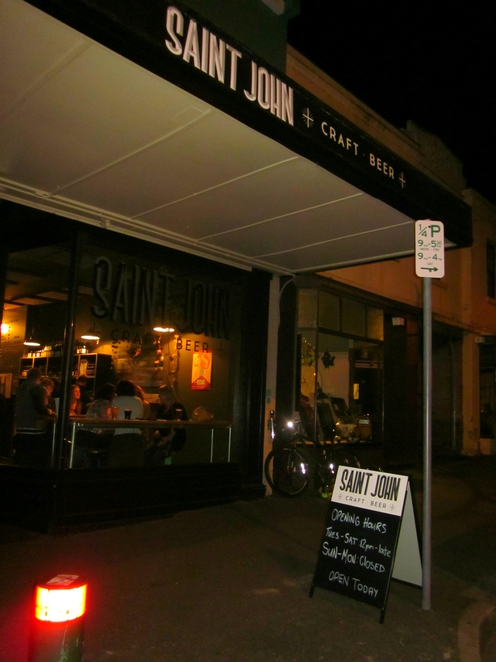 Saint John Craft Beer, beer, Launceston