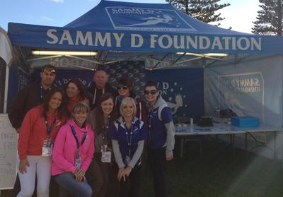 Sammy D Foundation at Schoolies Festival 2012