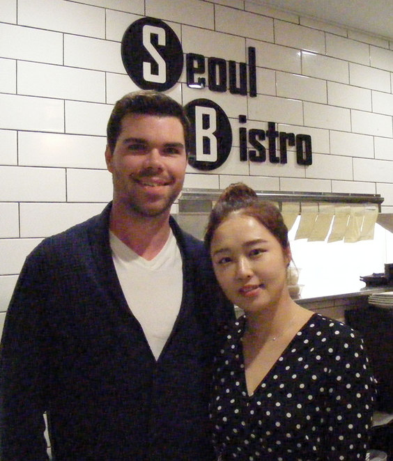 The owners Paul and Jiyoon