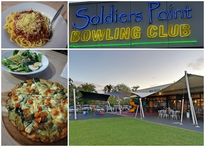 soldiers point bowling club, big 4 soldiers point, NSW, family friendly, kids, playground, cabin parks, caravan parks, dinner, lunch, playground, parks, kids meals,