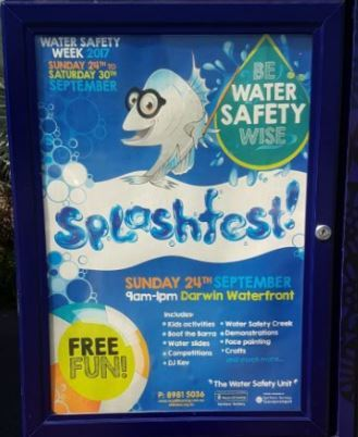Splashfest, The Waterfront Darwin, darwin, free, free family fun day, swimming, water safety
