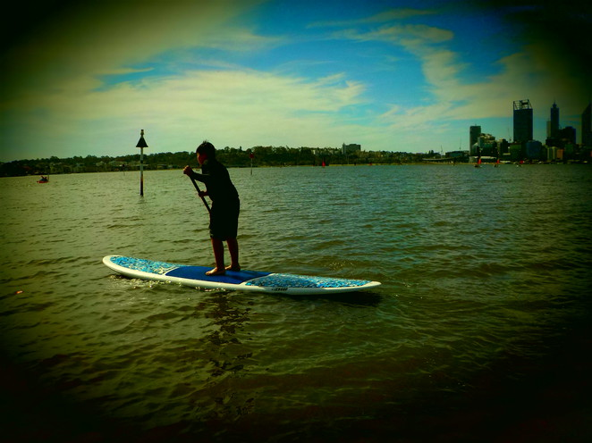 Stand up paddle board Swan River Perth