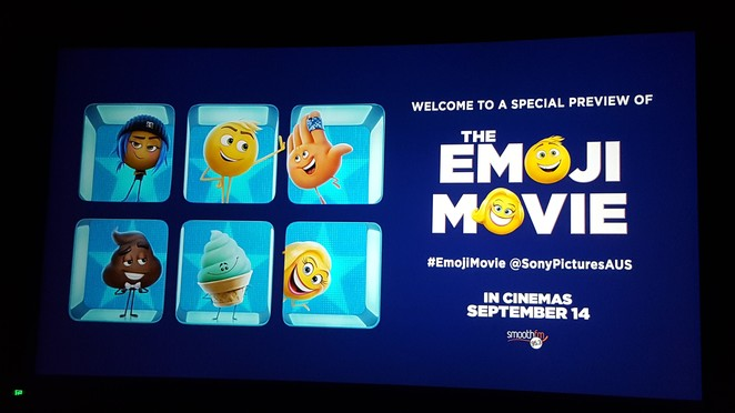 The Emoji Movie, Sony Pictures Animation, animated comedy, emojis, poo emoji, poop emoji, school holiday movie, Tony Leondis, Anna Faris, James Corden, T.J. Miller, Jennifer Coolidge, Sofia Vergara, Patrick Stewart, film review, smartphone, app