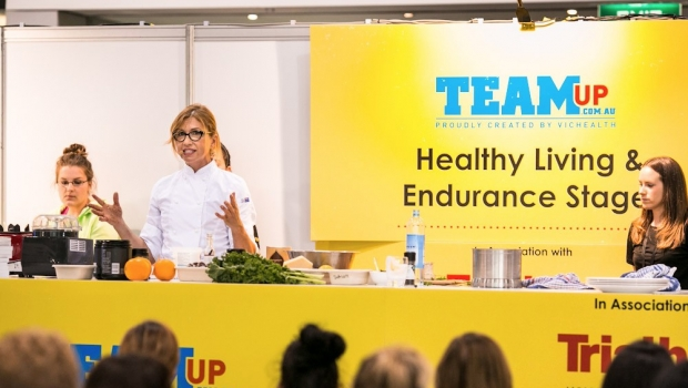 The Healthy Chef, Teresa Cutter, Fitness and Health Expo
