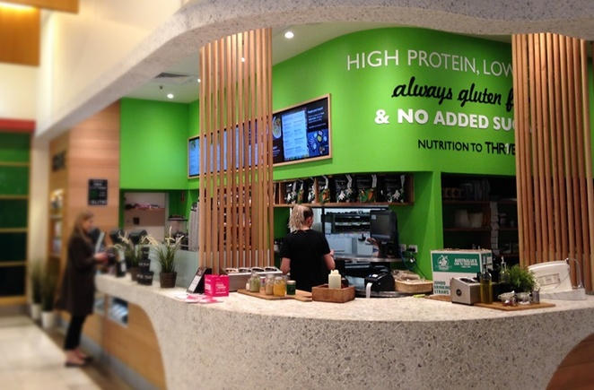 thr1ve, canberra, ACT, healthy takeaway food, canberra centre, healthy, gym, paleo, vegetarian,