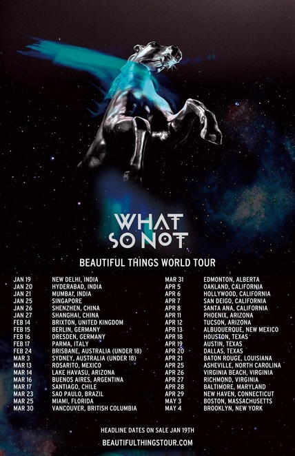 What So Not World Tour Tickets, Not All The Beautiful Things, Album review by Jade Jackson, Emoh