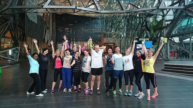 Zumba, Melbourne, Fed Square, Healthy Lifestyle Lounge,
