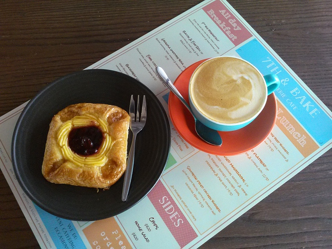7th bake and patisserie, cafe, kingston foreshore, ACT, breakfast, lunch,