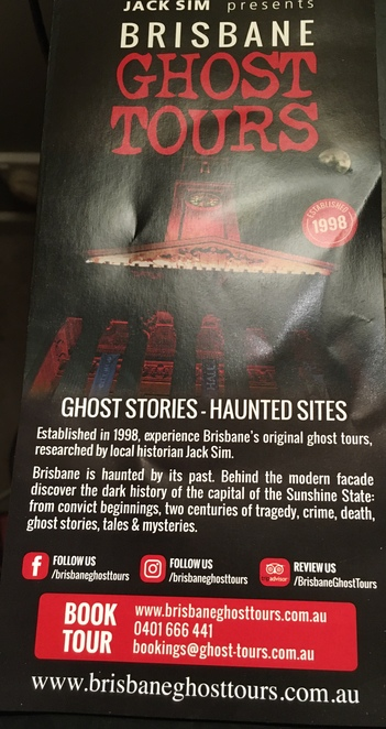 Courtesy of Brisbane Ghost Tours