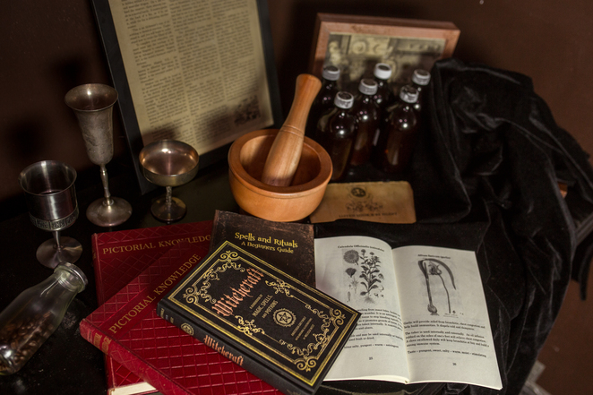 alchemy at home, escape room
