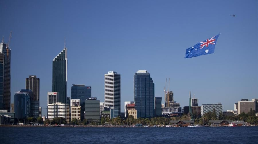 What is the date in Perth
