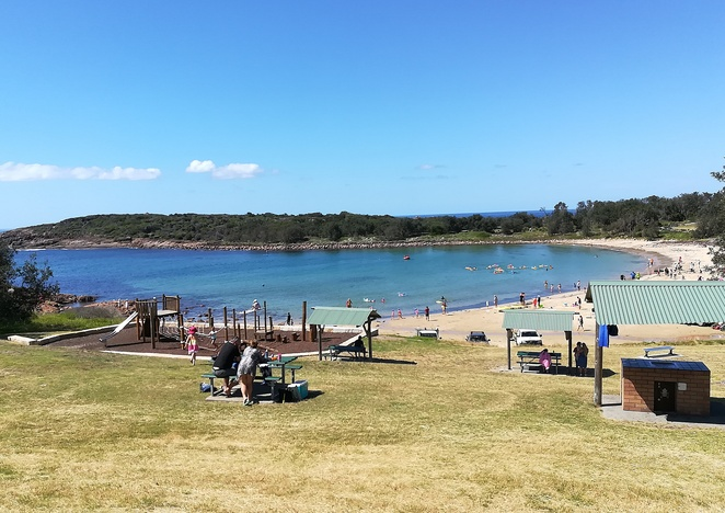 boat harbour, playground, BBQ areas, family, swimming, fishing, things to do, whale watching walk, kids, nippers, picnic tables, local beaches, fishing, boat ramps, NSW, port stephens, nelson bay,